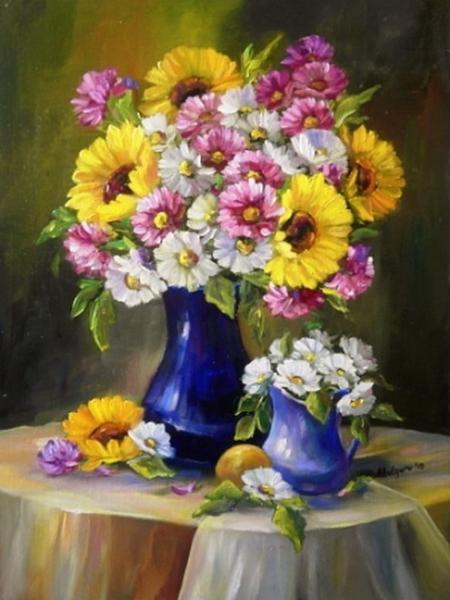 Acord cromatic floral / Bulgaru Anca