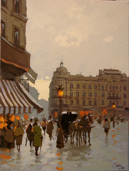 Prin vechiul Bucuresti, Calea victoriei,Hotel Bulevard / Deliu Doru Cristian