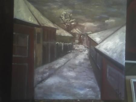 Peisaj de iarnă / PLĂVEȚI MIHAI