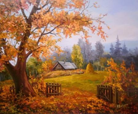 In ograda toamnei / Bulgaru Anca