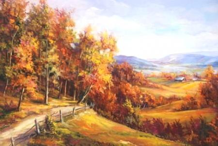 Priveliste spre Valea Seaca / Bulgaru Anca