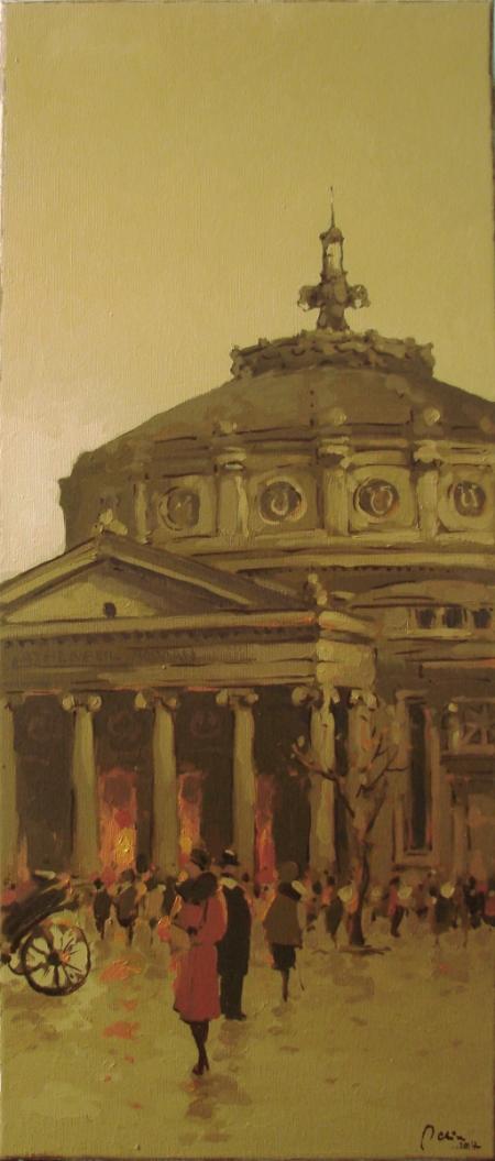 La Ateneu / Deliu Doru Cristian