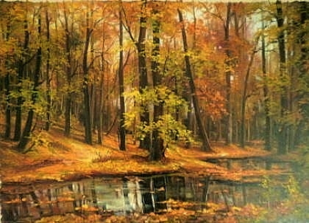 Frunze pe lac / Bulgaru Anca