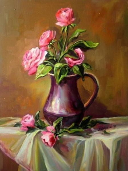 Vas cu trandafiri / Bulgaru Anca