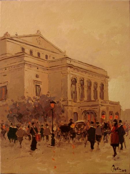 Fostul Teatru National Bucuresti / Deliu Doru Cristian
