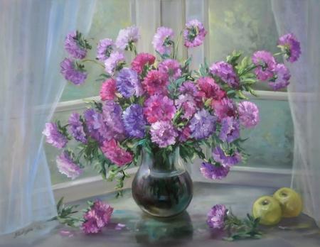 Flori la fereastra diminetii / Bulgaru Anca
