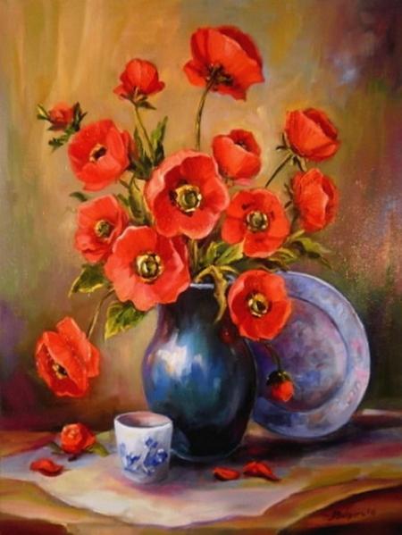 Cobalt si anemone / Bulgaru Anca