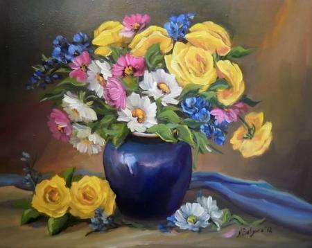 Buchet cu flori / Bulgaru Anca