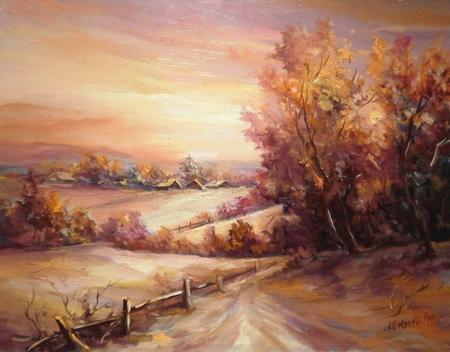 Apus de iarna violet / Bulgaru Anca