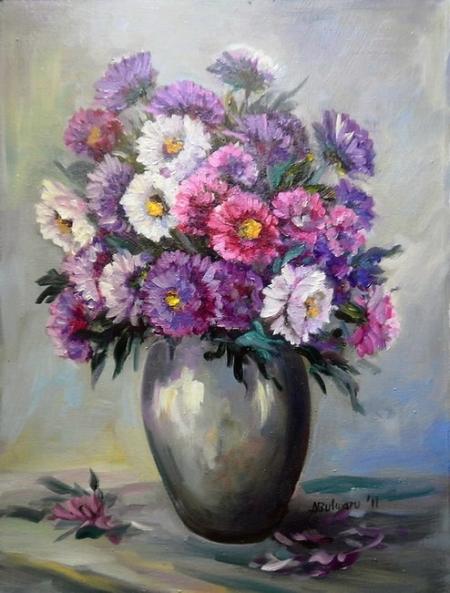 Dumitrite in violet / Bulgaru Anca