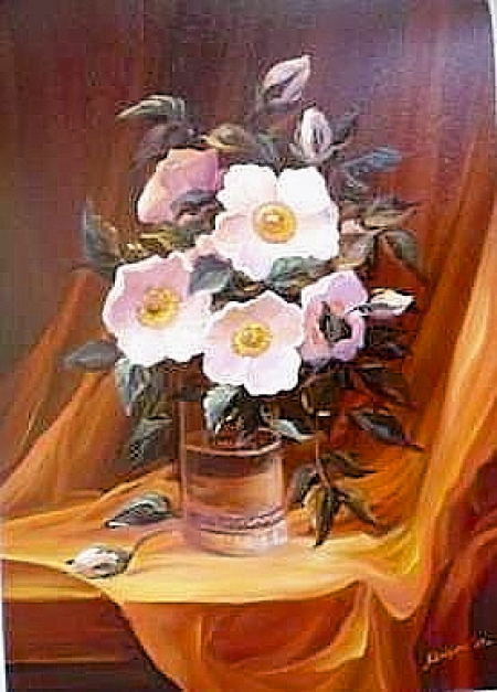 Flori  albe / Bulgaru Anca