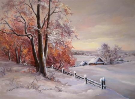 Pastel de iarna / Bulgaru Anca