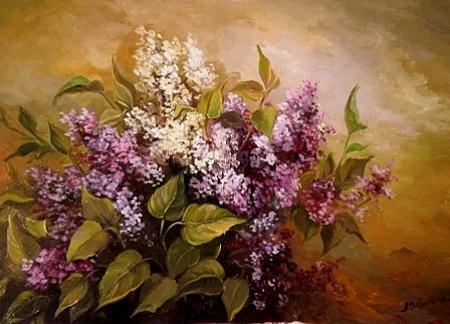 Flori de liliac  / Bulgaru Anca