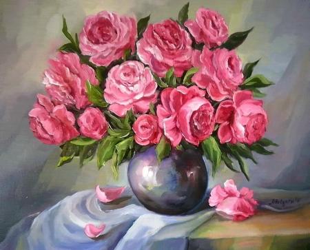 Buchet roz / Bulgaru Anca