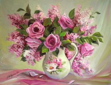 Roz si roze / Bulgaru Anca