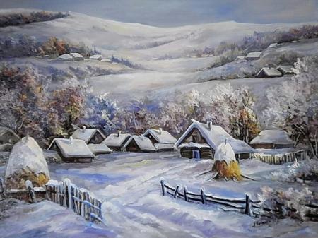 Iarna in munti / Bulgaru Anca