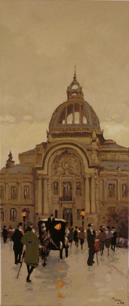 Prin vechiul Bucuresti ,Palatul CEC / Deliu Doru Cristian