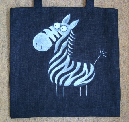 torba zebra / Gangal Anastasia