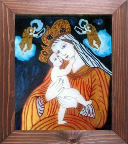 Fecioara Maria cu Pruncul     / Adrian Mogos