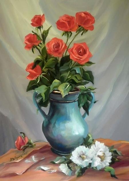 Trandafiri si crizanteme / Bulgaru Anca