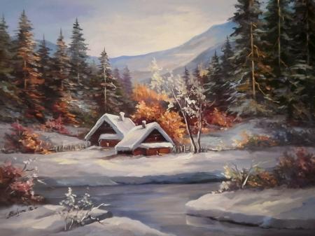 Iarna din basm / Bulgaru Anca