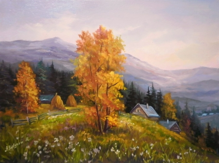 Toamna pe munte / Bulgaru Anca