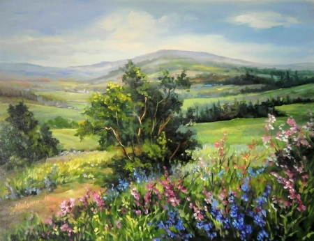 Plaiuri pictate cu vara / Bulgaru Anca