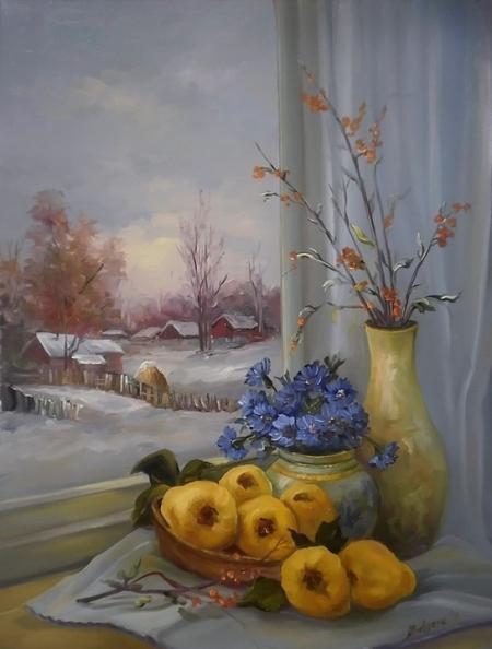 La fereastra iernii / Bulgaru Anca