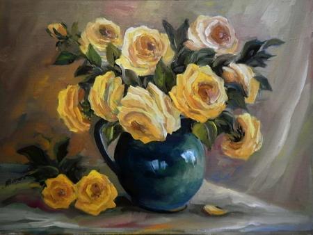 Trandafiri in ulcica / Bulgaru Anca