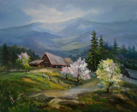 Pe cararea primaverii / Bulgaru Anca