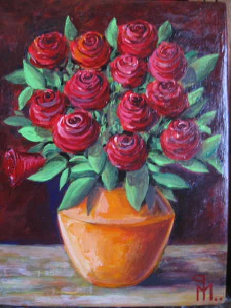 red roses / PLĂVEȚI MIHAI