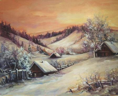 Apus de iarna la Fundata / Bulgaru Anca