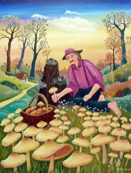 La cules de ciuperci / Dascalu  Mihai