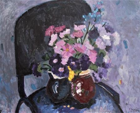 Flori in oale de la Tudora / Spaiuc George