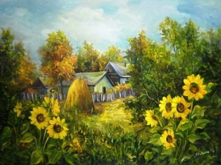Gradina cu soare / Bulgaru Anca