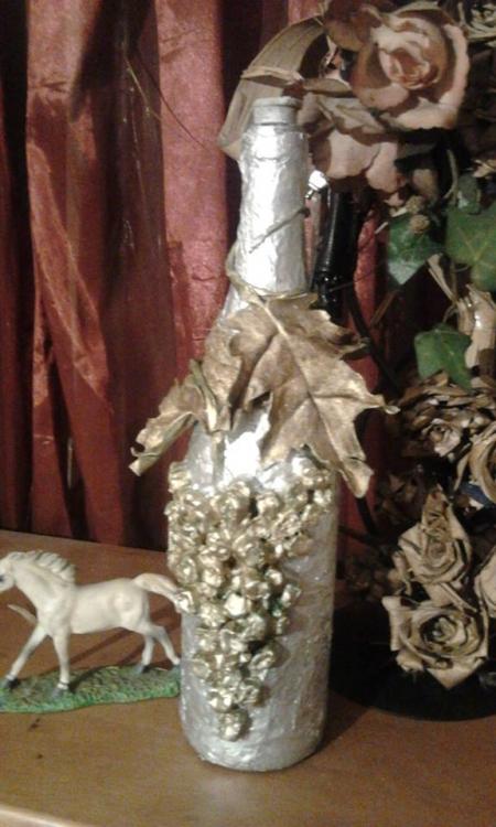 Sticla decorative / Pochincereda Angela
