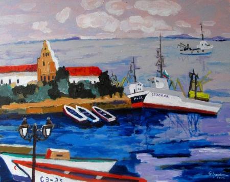 Portul Sozopol / Spaiuc George