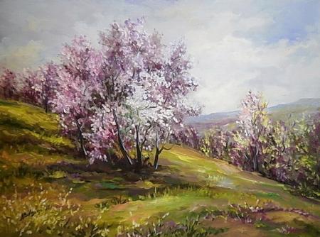 Pastel inflorit / Bulgaru Anca