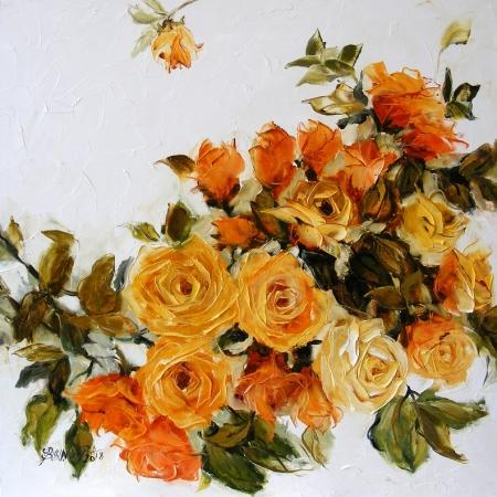 Trandafiri galbeni 2018 / Bissinger Elena