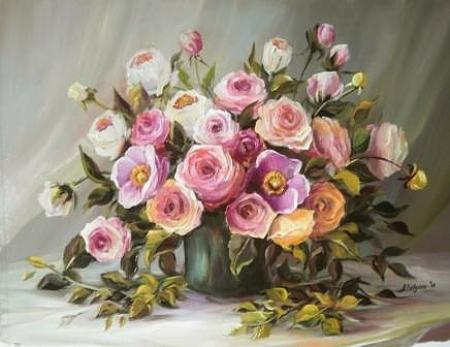 Trandafiri roz / Bulgaru Anca