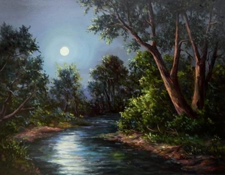 Sub clar de luna / Bulgaru Anca