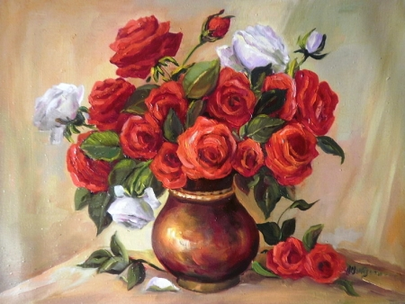 Trandafiri bicolori / Bulgaru Anca