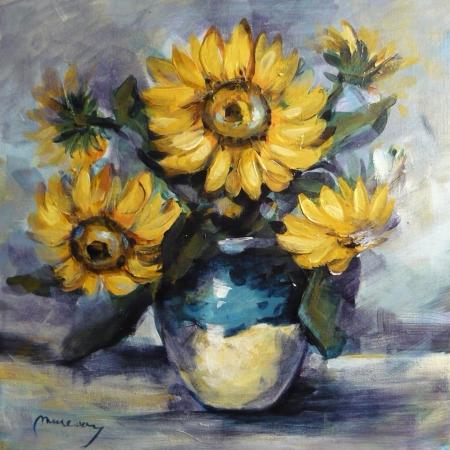 Vaza cu floarea soarelui / Muresan Ioan