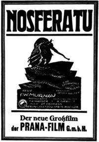 afis nosferatu 1922