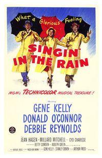 singin in the rain afis