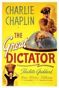 the grat dictator poster