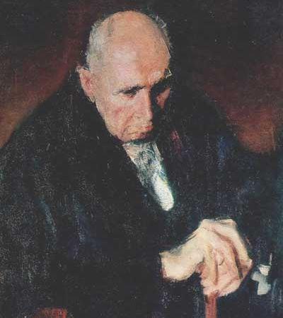 Corneliu Baba Portret Zambaccian