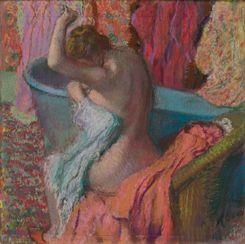 La sortie du bain Degas