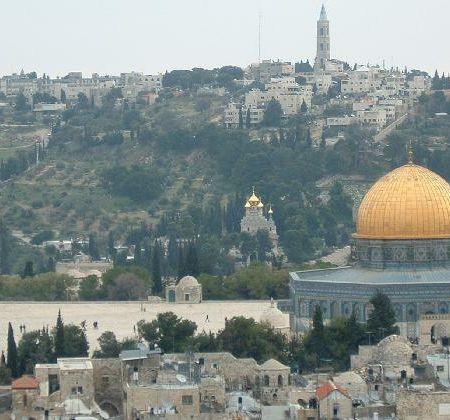 Muntele Maslinilor, Ierusalim