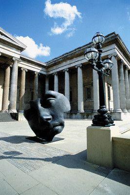 british museum front